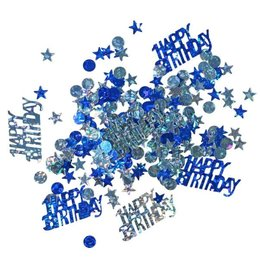 Streudeko Happy Birthday blau Jungs Inhalt 15 g