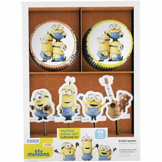 Backset Muffin Minions 48 -teilig