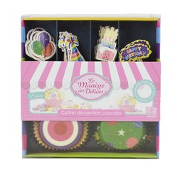 Cupcake Partybox Happy Birthday 48-teilig
